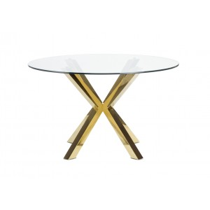 Bella Dining Table Gold
