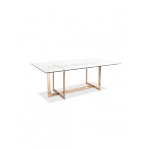 Cooper Dining Table Rose Gold