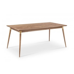 Moon Dining Table With Brass Tubes