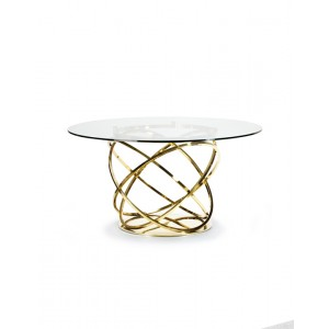 Orbit Dining Table Gold
