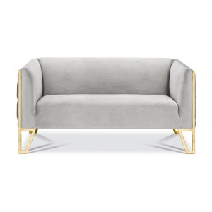Kara Loveseat Gold